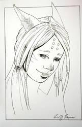Art Card: Shy Mi'qote by Silkspinner