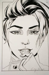 Art Card: Madison Paige by Silkspinner