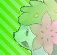 Shaymin avatar by Pointsettia