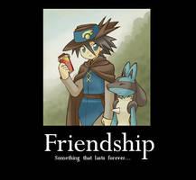 Friendship by Pointsettia