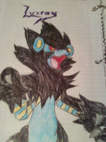 Towering Luxray by Pointsettia