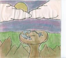 Sleeping Dragon by Pointsettia