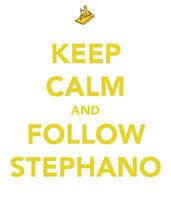 Keep Calm And Follow Stephano by Pointsettia
