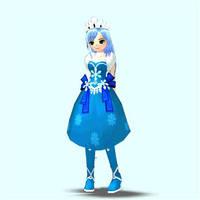 Mabinogi/Sonic Luna by Pointsettia