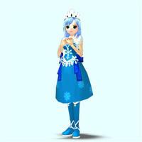 Mabinogi/Sonic Luna pose 2 by Pointsettia