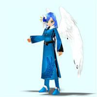 Mabinogi/Sonic Luna pose 3 by Pointsettia