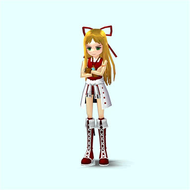 Mabinogi/Sonic Onyx pose 2 by Pointsettia