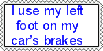 Left foot brake stamp by blueace1986