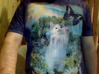 a kitten shirt by blueace1986