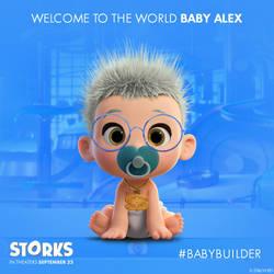 Baby alex by blueace1986