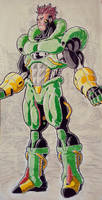 Super Android 16 by TicoDrawing