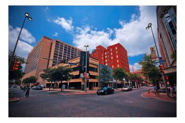 Downtown San Antonio by darkernights