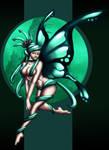 Absint,The Mint Faerie by venominon