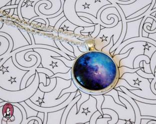 Galactical fog necklace again by BlitheMagic