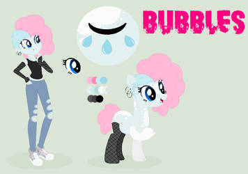 Bubbles Ref Sheet 2018 [OFFICIAL] by CattyNora