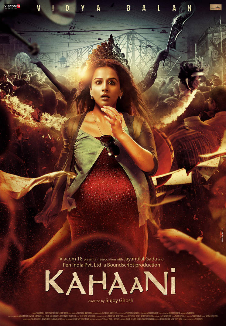 'KAHAANI' first poster by metalraj