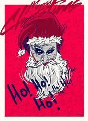 WICKED santa by metalraj