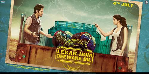 horizontal poster for 'LEKAR HUM DEEWANA DIL' by metalraj