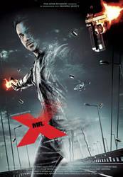 Mr X Key art by metalraj
