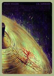 WHIPLASH painting by metalraj
