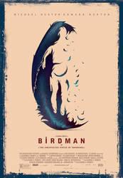 BIRDMAN vector poster by metalraj