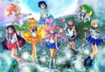 L'ultima trasformazione di Sailor Moon by oujimishima