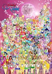 [OC] Sailor Senshi 2015 by oujimishima