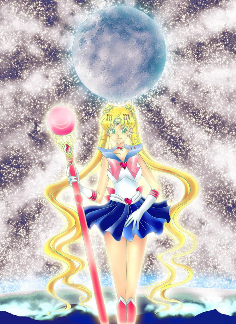 Sailor Artemis by oujimishima