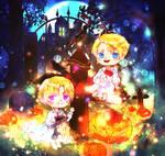 [Hetalia] Jack-o'-lanterns by trackwalker