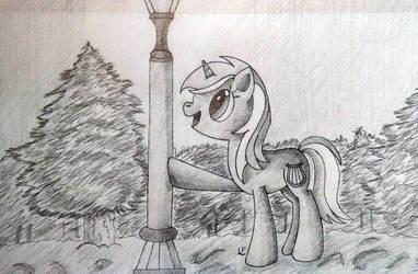 Lyra in Narnia by MoonSheid