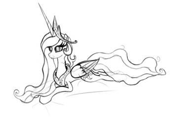 Tia sketch by MoonSheid