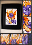 Spyro Reignited Trilogy - Watercolor By MKP by MashaKP5