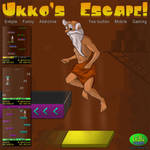 Ukko's Escape - Cover for mobile game by Neelai
