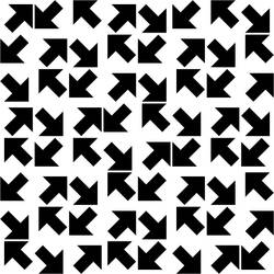 Tilted Arrow Pattern 3 by andydiehl