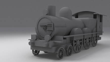 Primitive train by MiekeYperman