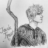 Jack Frost sketch by Narikoh