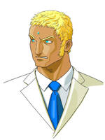 Urien from Street Fighter III by saturn0729