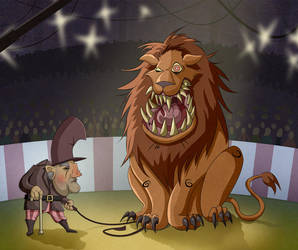 The Lion Tamer by Sodano