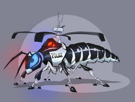 Ghetto Wasp by Sodano