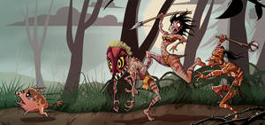 Forest People by Sodano