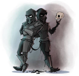Noob Saibot by Sodano