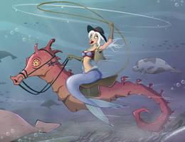 Sea Cowgirl by Sodano