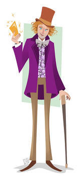Willy Wonka by Sodano