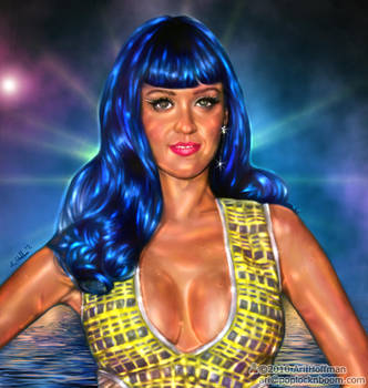 Katy Perry... Art work by arihoff