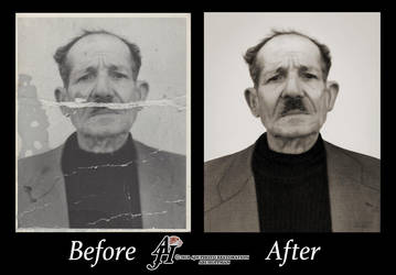 European Man From The 1930's Photo Restoration by arihoff