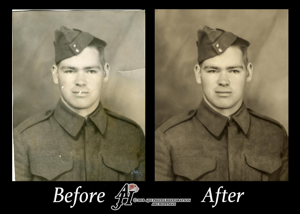 Man In Uniform. Before And After by arihoff