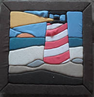 Foam Lighthouse picture frame by Messinground