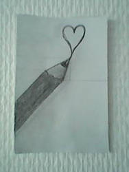 heart pencil by schappacher