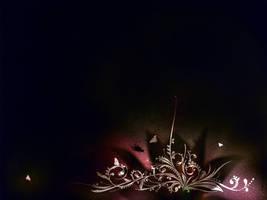 Organic Art. The Fly. black by AiK-art