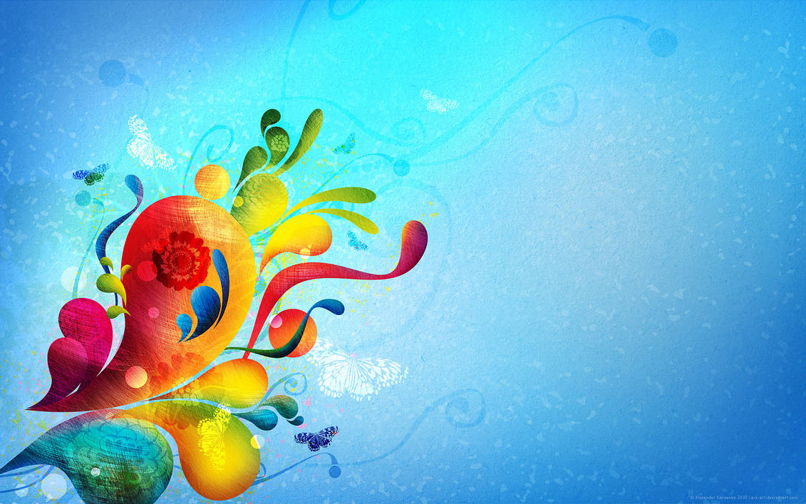 Abstract colors by AiK-art